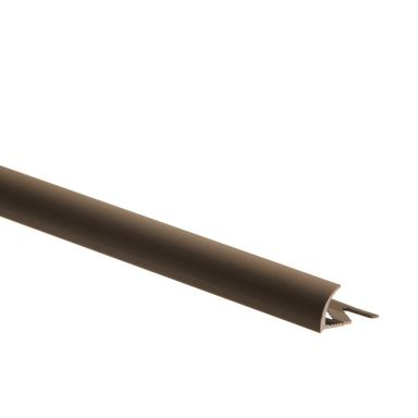 Profil wykończeniowy ZEWNĘTRZNY PÓŁOKRĄGŁY aluminiumszer. 12 EASY LINE