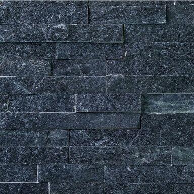 Kamień naturalny WALL CRAZY Silver black 40 x 10 cm KNAP