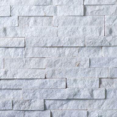 Kamień naturalny WALL CRAZY SNOW WHITE SMALL 40 x 10 cm KNAP