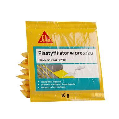 Plastyfikator do zapraw murarskich i tynkarskich SIKACEM PLAST POWDER 16 g SIKA