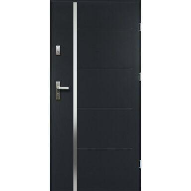 Drzwi wejściowe IRIS RC2 Antracyt 80 Prawe