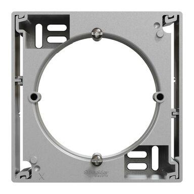 Rozszerzenie natynkowe podstawy pojedyncza Miluz Ed aluminium SCHNEIDER ELECTRIC