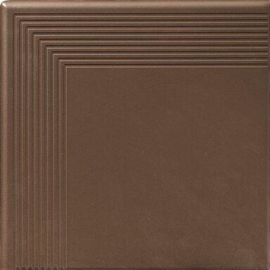 Stopnica narożna classic brązowa 30x30x11 mm  8 sztuk w opak. Cerrad