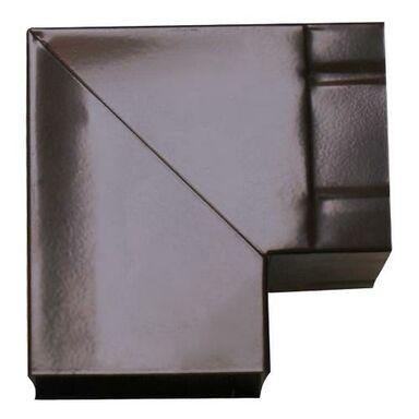 Kolanko wentylacyjne do okapu PROSTOKĄTNE 90° 90 x 90 mm AKPO