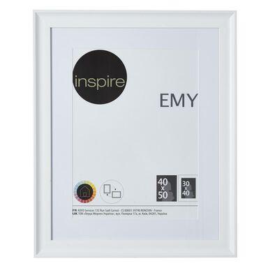 Ramka na zdjęcia Emy 40 x 50 cm biała Inspire