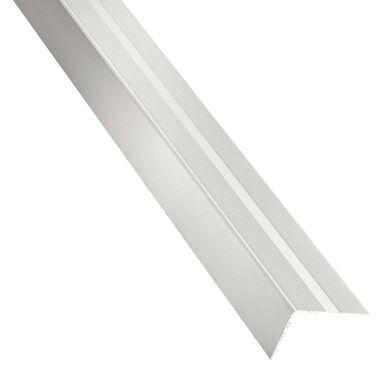 Listwa schodowa aluminiowa 1 m x 40 x 25 mm anodowana srebrna STANDERS