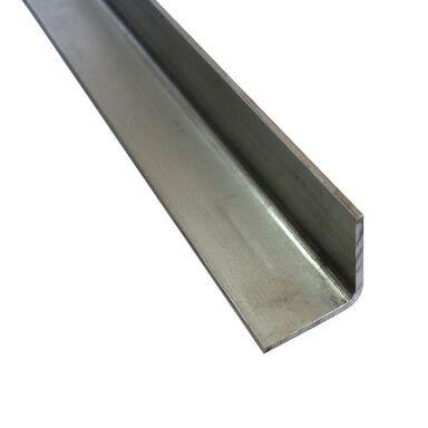 Kątownik stalowy 2 m x 20 x 20 mm surowy