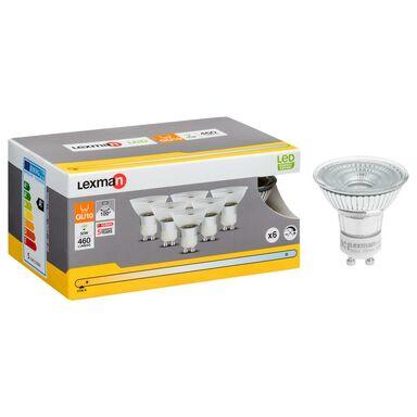 Zestaw żarówek LED GU10 (230 V) 5 W 460 lm Ciepła biel LEXMAN
