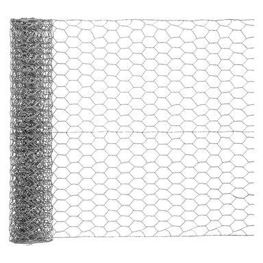 Siatka heksagonalna 0.5 x 5 m ocynk