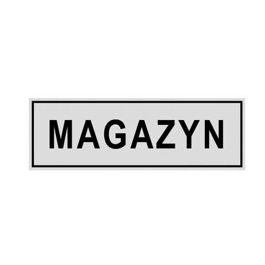 Znak informacyjny MAGAZYN 8 x 22 cm