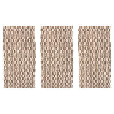 Papier ścierny SIATKA RZEP P80 185 x 93 mm 3 szt. DEXTER