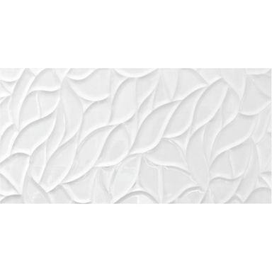 Glazura BRILLIANT WHITE WAVES 30 X 60 EUROCERAMIC
