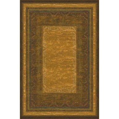 Dywan PETRA oliwkowy 235 x 350 cm wys. runa 8 mm DYWILAN