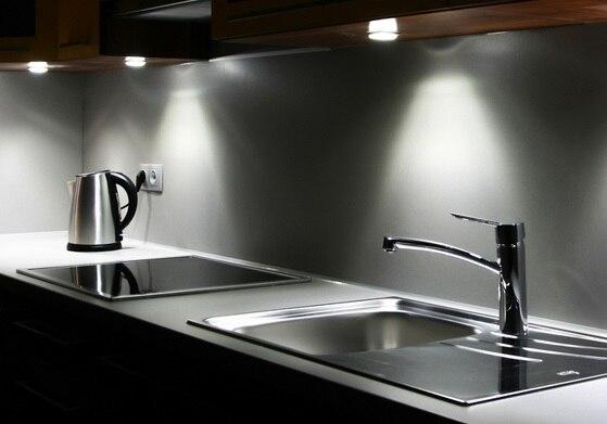 Oświetlenie w kuchni, co warto wiedzieć  porady Leroy Merli -> Kuchnia Leroy Merlin Limonka
