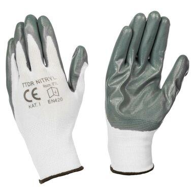Rękawice robocze NITRYL  r. 9  TOP-TECH DIRECT