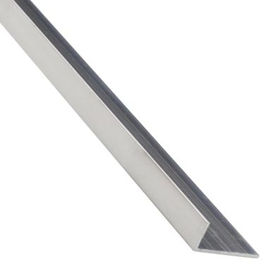 Kątownik aluminiowy 1 m x 16 x 11 mm surowy srebrny STANDERS