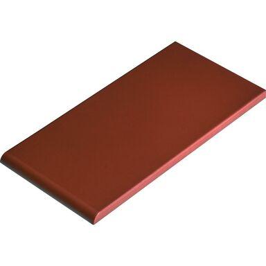 Płytka klinkierowa do parapetów ROT 24.5 x 13.5 x 1.3 cm Gładka CERRAD