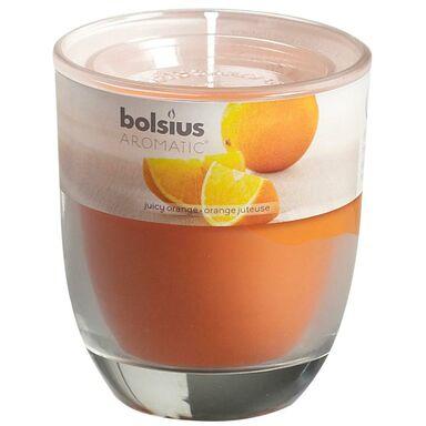 Świeca zapachowa AROMATIC  zapach: Pomarańczowy  BOLSIUS
