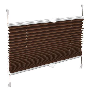 Roleta plisowana Verona 97 x 150 cm czekoladowa