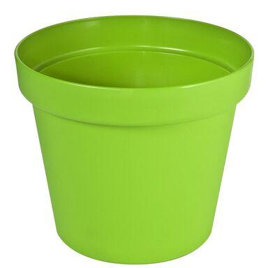 Doniczka plastikowa 19 cm zielona PATIO PATROL