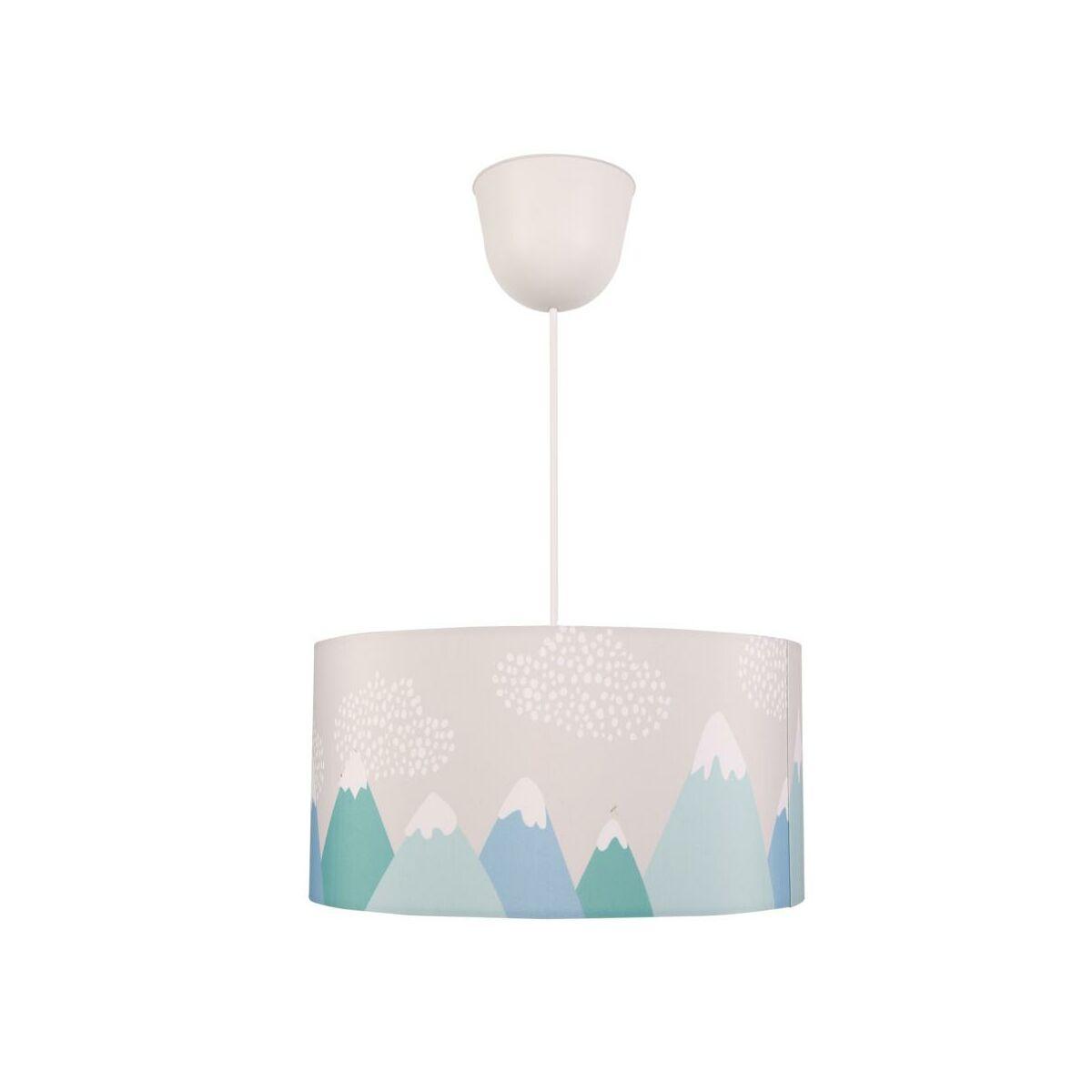 Lampa Wiszaca Hill Niebiesko Zielona E27 Inspire Zyrandole Lampy Wiszace I Sufitowe W Atrakcyjnej Cenie W Sklepach Leroy Merlin