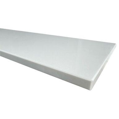Parapet wewnętrzny konglomeratowy Snow White 152x30x2 cm KNAP