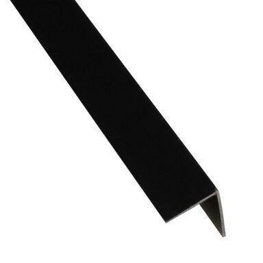 Kątownik PVC 2.6 m x 19.5 x 19.5 mm matowy czarny STANDERS