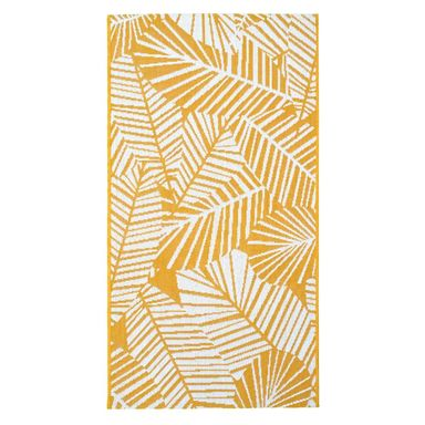Dywan zewnętrzny Haiti żółty 60 x 90 cm