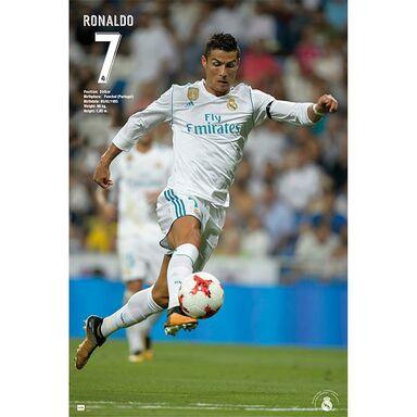 Plakat RONALDO 17/18 61 x 91.5 cm