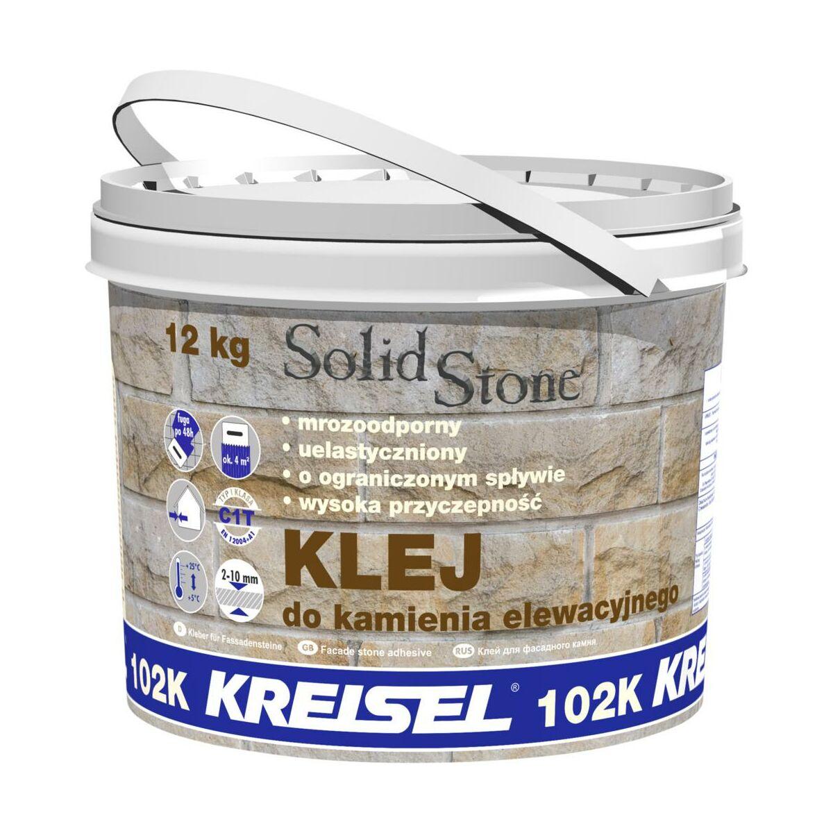 Klej Do Kamienia Elewacyjnego Solid Stone 12 Kg Kreisel Kleje Do Kamieni I Plytek Elewacyjnych W Atrakcyjnej Cenie W Sklepach Leroy Merlin