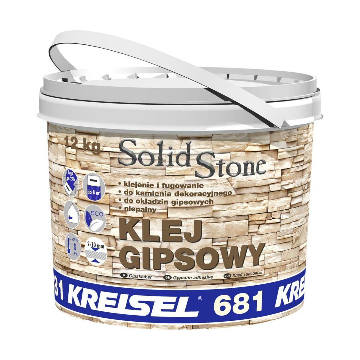 Klej Gipsowy Do Kamienia Dekoracyjnego Solid Stone 12 Kg Kreisel Kleje Do Kamieni I Plytek Elewacyjnych W Atrakcyjnej Cenie W Sklepach Leroy Merlin