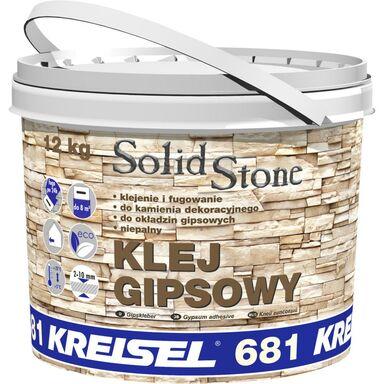 Zaprawa klejowa GIPSOWA SOLID STONE 12 kg KREISEL