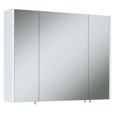 Szafka lustrzana bez oświetlenia TECHNO 800 3 WHITE ELITA