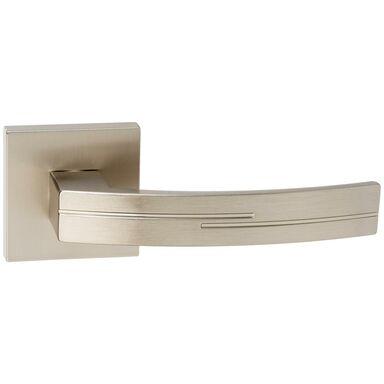 Klamka drzwiowa na rozecie FLODEN Nikiel szczotkowany INSPIRE