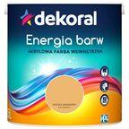 Farba wewnętrzna ENERGIA BARW 2.5 l Koktajl Bananowy DEKORAL