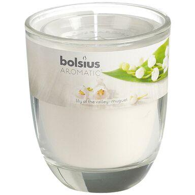 Świeca zapachowa w szkle AROMATIC konwalia BOLSIUS