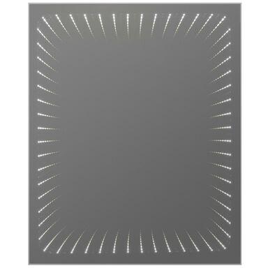 Lustro łazienkowe z oświetleniem wbudowanym WENECJA 50 x 63 DUBIEL VITRUM