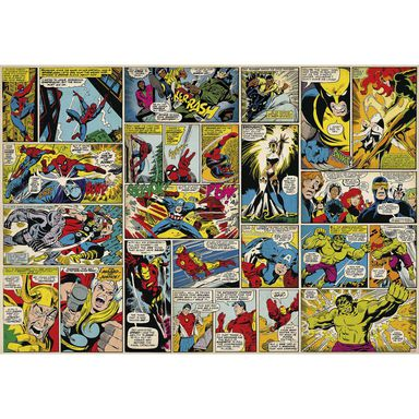 Fototapeta MARVEL COMIC HEROES 368 x 254 cm