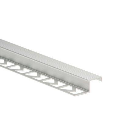 Profil wykończeniowy schodowy Aluminium 2.5 m Srebrny Standers