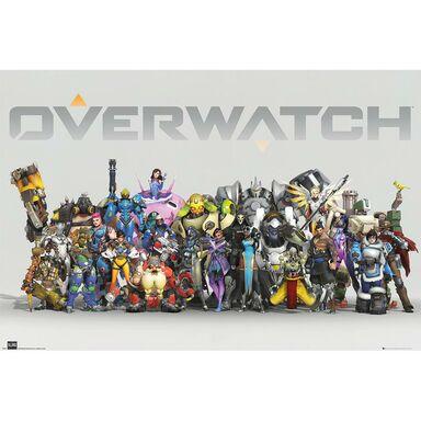 Plakat OVERWATCH-ANNIVERSARY LIN 91.5 x 61 cm
