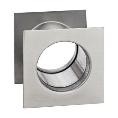 Tuleja wentylacyjna do drzwi 40 x 40 mm Nikiel METAL-BUD