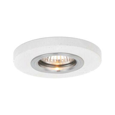 Oprawa stropowa oczko BETONOWA biała okrągła GU10 SPOT-LIGHT