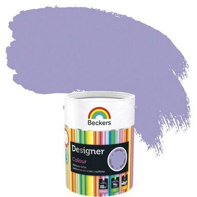 Farba wewnętrzna DESIGNER COLOUR 5 l Crocus Violet BECKERS
