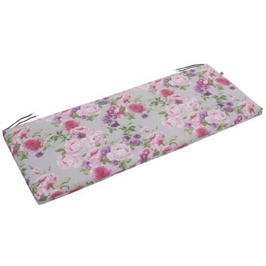Poduszka na ławkę NEAPOLI 113 x 45 cm kwiaty PATIO