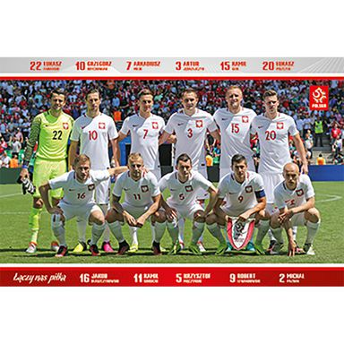 Plakat GROUP - PZPN 5 91.5 x 61 cm