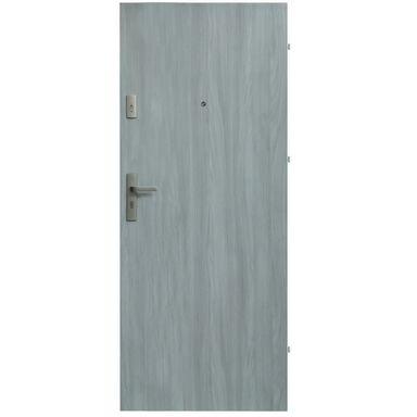 Drzwi wejściowe PRESTON Dąb frozen 90 Prawe DOMIDOR