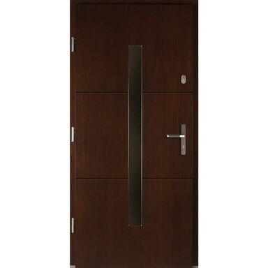 Drzwi wejściowe PROXIMA Orzech 90 Lewe