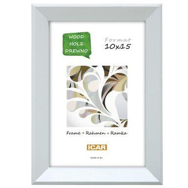 Ramka na zdjęcia MAGIC COLOR 10 x 15 cm biała drewniana