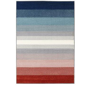 Dywan Simp niebiesko-czerwony 120 x 160 cm