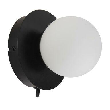 Kinkiet łazienkowy Kapi IP44 czarny LED Inspire